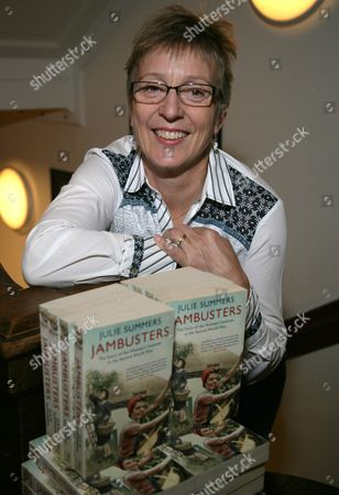 Editorial image of Julie Summers 'Jambusters The Story of The Womens Institute in the Second World War' book signing, Oxford, Britain - 23 Oct 2014