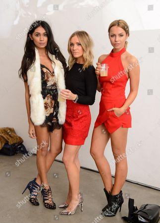 Shree Patel, Amy Ross and Emma Lou