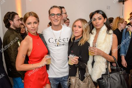 Emma Lou, Oliver Proudlock, Amy Ross and Shree Patel