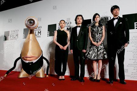Eri Fukatsu, Shota Sometani, Ai Hashimoto, Takashi Yamazaki