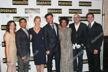 Editorial image of 'Disgraced' opening night on Broadway, New York, America - 23 Oct 2014