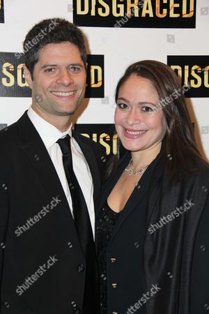 Editorial picture of 'Disgraced' opening night on Broadway, New York, America - 23 Oct 2014