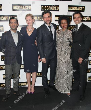 Editorial photo of 'Disgraced' opening night on Broadway, New York, America - 23 Oct 2014