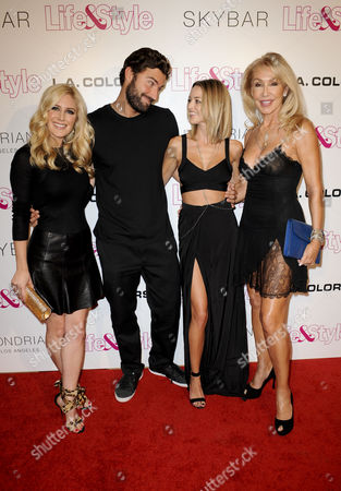 Heidi Montag, Brody Jenner, mother Linda Thompson and Kaitlynn Carter