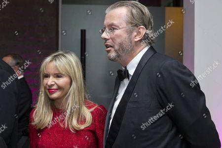 Hans Kristian Rausing and wife Julia