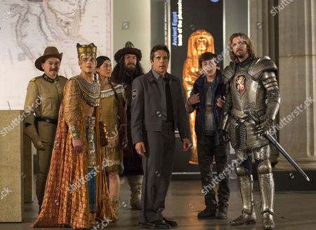 Editorial photo of 'Night At The Museum: Secret Of The Tomb' Film - 2014