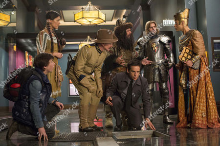 Editorial picture of 'Night At The Museum: Secret Of The Tomb' Film - 2014