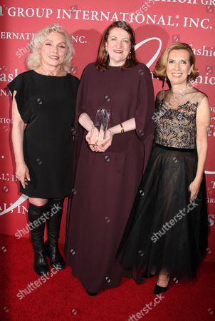 Deborah Harry, Glenda Bailey and Liz Rodbell