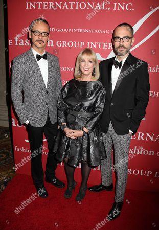 Viktor Horsting, Carol Hamilton and Rolf Snoeren