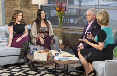 Kelly Rose Bradford and Amanda Moss with Eamonn Holmes and Ruth Langsford
