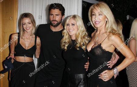 Heidi Montag, Brody Jenner, Kaitlynn Carter, Linda Thompson