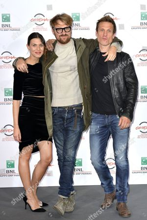 Ana Ularu, Lorenzo Sportiello and Simon Merrells