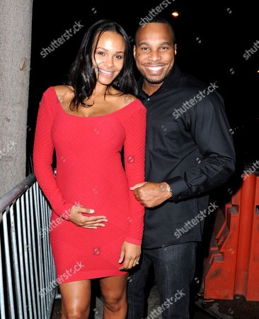 Stock Picture of Samantha Mumba and Torray Scales