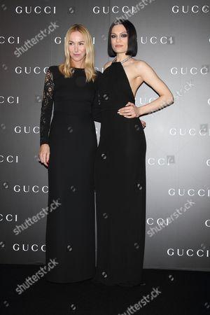 Jessie J and Creative Director of Gucci, Frida Giannini