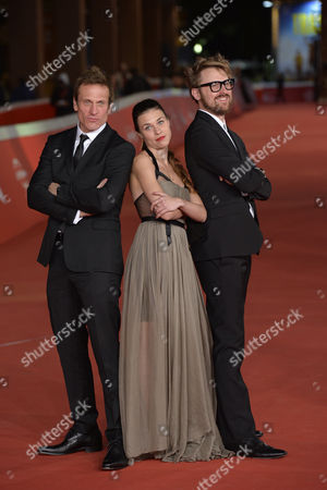Director Lorenzo Sportiello, Simon Merrells, Ana Ularu