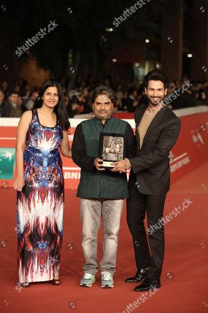 Stock Image of Vishal Bhardwaj, People's Choice Award Mondo Genere for the film Haider