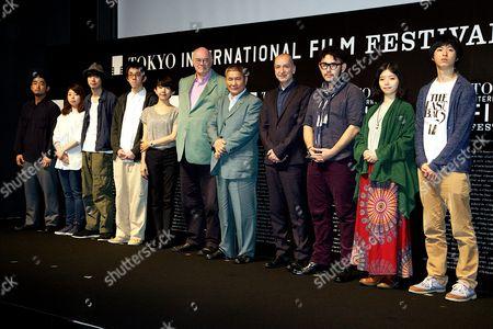 Editorial image of 'Samurai Awards' at Toho Cinema, Tokyo, Japan - 25 Oct 2014