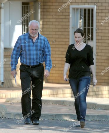 Editorial photo of Family of Oscar Pistorius visit him in prison, Pretoria, South Africa - 25 Oct 2014
