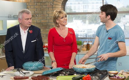 Eamonn Holmes, Ruth Langsford and Jimmy Garcia