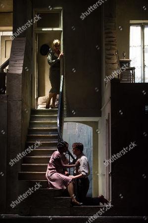 Jennifer Holloway (Musetta), Angel Blue (Mimi), David Butt Philip (Rodolfo)