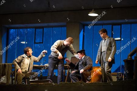 Editorial image of 'La Boheme' opera at the London Coliseum, Britain - 27 Oct 2014