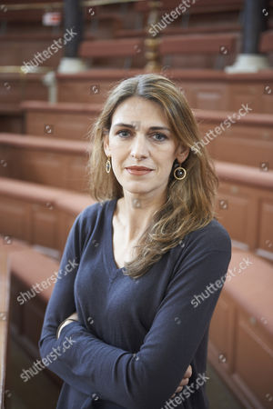 Clare Mulley at the Sheldonian Theatre