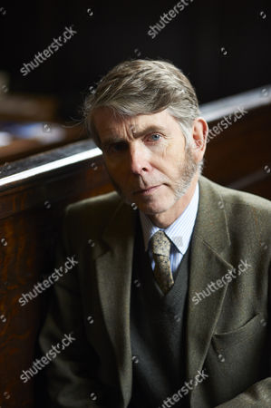 Stock Photo of Ronald Frame at the Bodleian Convocation House