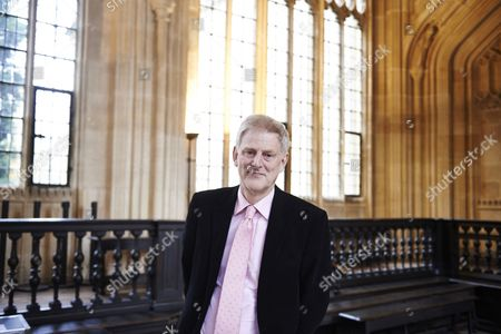 John Guy at the Bodleian Divinity School