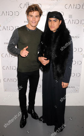 Stock Image of Oliver Cheshire and Tuck Muntarbhorn