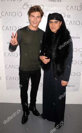 Editorial image of Candid magazine issue launch party, London, Britain - 27 Oct 2014