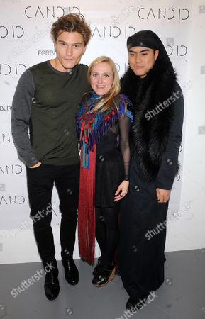 Oliver Cheshire, Courtney Blackman and Tuck Muntarbhorn