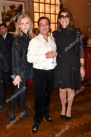 Charlene Shorto de Ganay, Chico Bouchikhi, Martine Assouline and Prosper Assouline