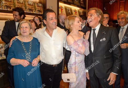 Guest, Chico Bouchikhi, Kylie Minogue and Valentino