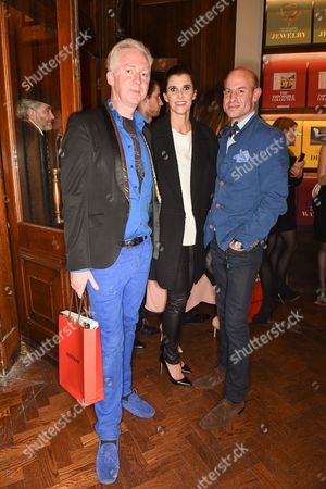 Philip Treacy, Princess Rosario and Stefan Bartlett