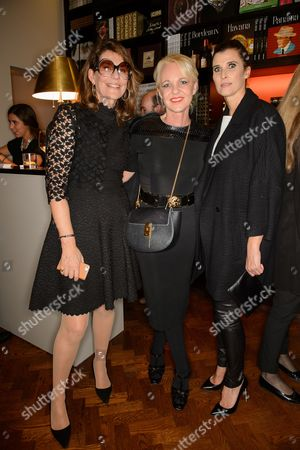 Editorial photo of 'Valentino: At the Emperor's Table' book signing at Maison Assouline flagship, London, Britain - 28 Oct 2014