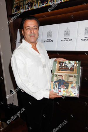 Editorial picture of 'Valentino: At the Emperor's Table' book signing at Maison Assouline flagship, London, Britain - 28 Oct 2014
