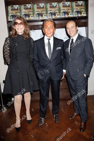 Martine Assouline, Valentino and Prosper Assouline