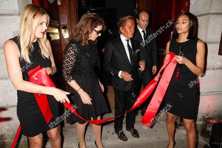 Guest, Martine Assouline, Valentino and Prosper Assouline