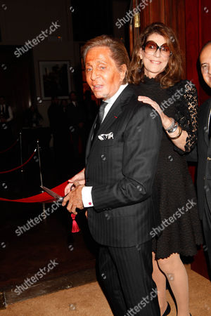 Valentino and Martine Assouline