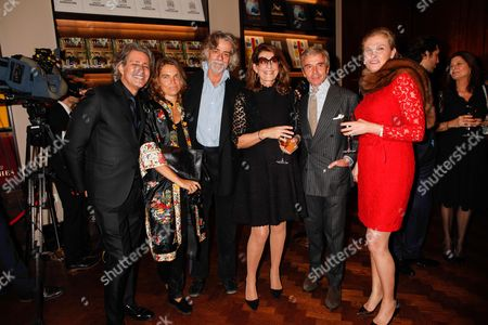 Guests, Martine Assouline and guests