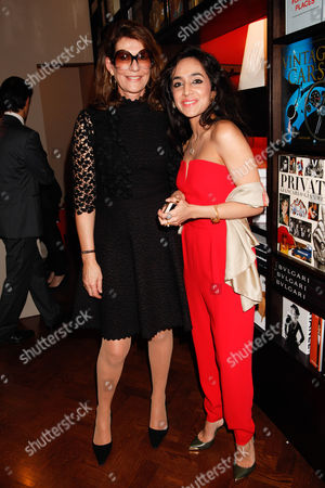 Martine Assouline and guest