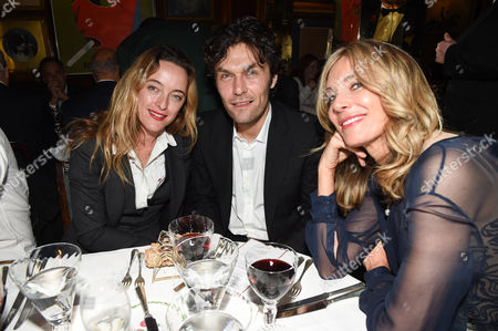 Alice Temperley, Barry Reigate and Kim Hersov