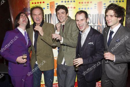 George Maguire (Dave Davies), Ray Davies, John Dagleish (Ray Davies), Adam Sopp (Mick Avory) and Ned Derrington (Pete Quaife)