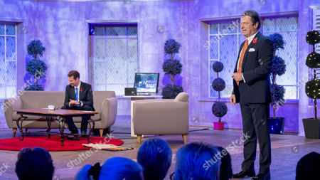 Stock Image of Olly Mann and Alan Titchmarsh