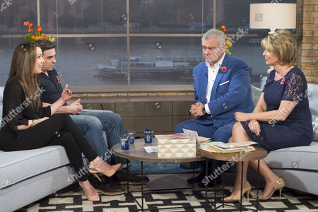 Harriet Morter and Paul Connolly with Eamonn Holmes and Ruth Langsford
