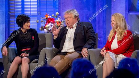 Reverend Sally Hitchiner, Nick Ferrari and Sonia Poulton.