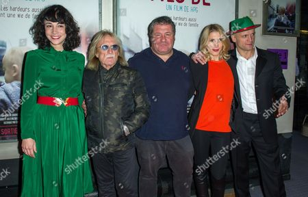 Editorial photo of 'Fils De' film premiere, Paris, France - 29 Oct 2014