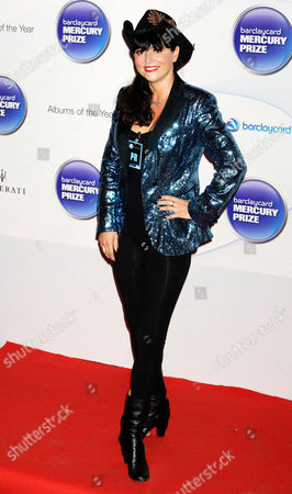 Editorial image of Barclaycard Mercury Prize, Roundhouse, London, Britain - 29 Oct 2014