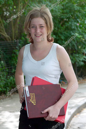 Emma Amos, whose attendance at school was so bad that her mum was sent to Holloway prison for a fortnight, has been presented with an English prize