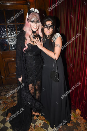 Editorial image of The UNICEF Halloween Ball, London, Britain - 30 Oct 2014
